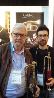 mit Prof. Friedemann Immer auf der Frankfurter Musikmesse 2018